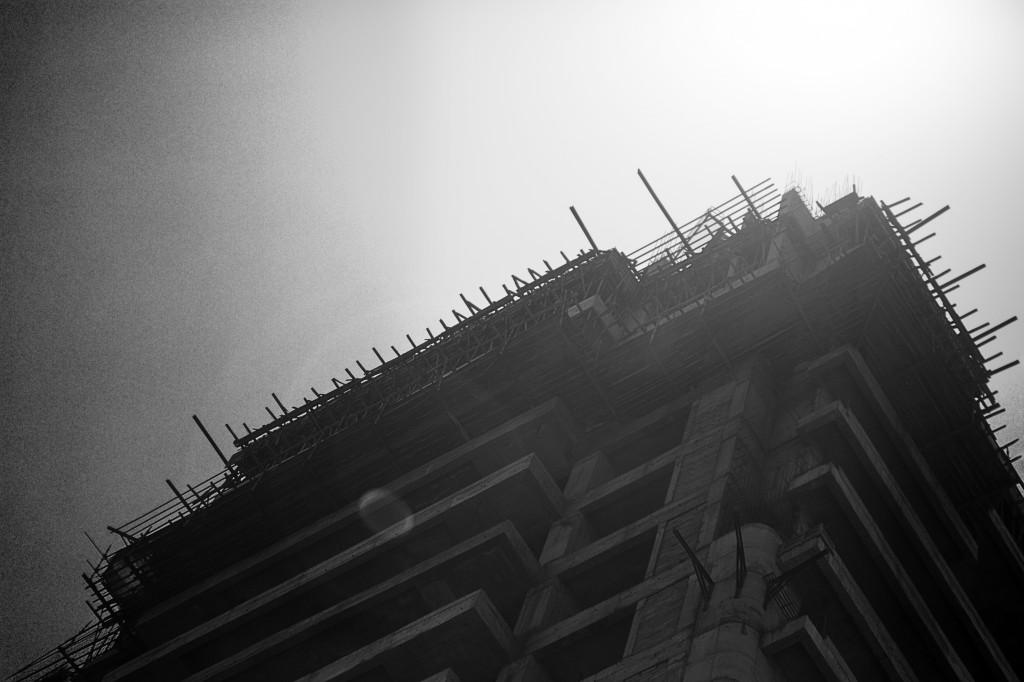 Building Mumbai BW SM