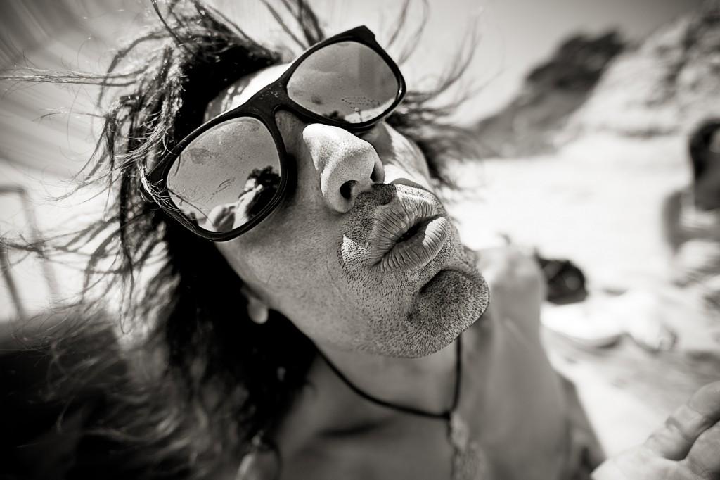 Rajiv Kisses Dope BW SM